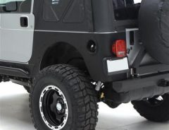 XRC Rear Corner Guards 97-06 Wrangler TJ and Rubicon Black Textured Smittybilt
